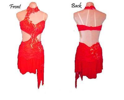 Super Abito da ballo salsa portoricana - Fashion touch italy EN29